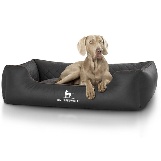 Knuffelwuff Quilted Dog Bed Made of Synthetic Milan Leather