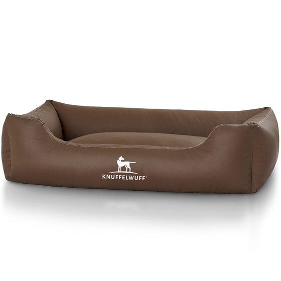 Knuffelwuff Leather Dog Bed Sidney