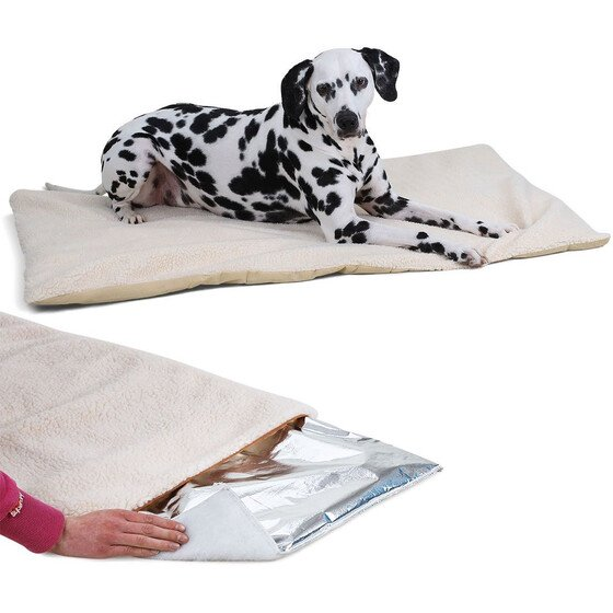 Knuffelwuff cold resistant and insulating thermo dog mat