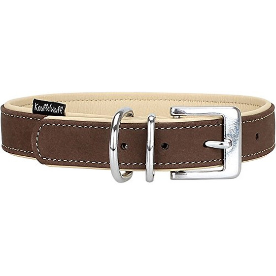 Knuffelwuff Orlando Nubuck Soft Leather Dog Collar