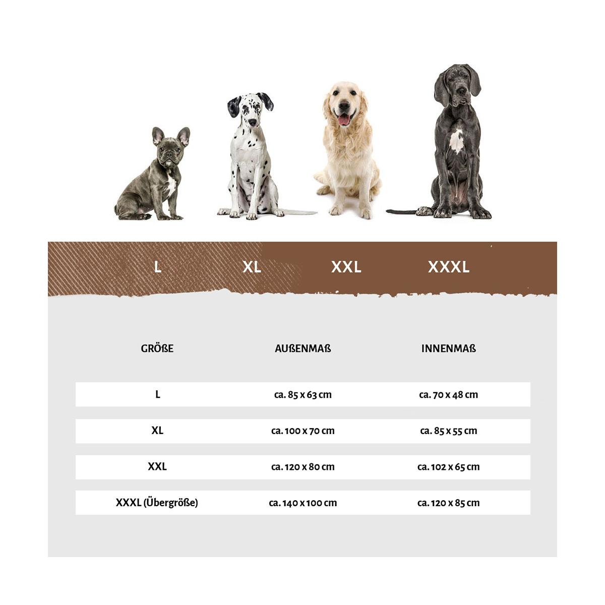 Bed 140 Breed.Orthopedic Corner Dog Bed Marlie