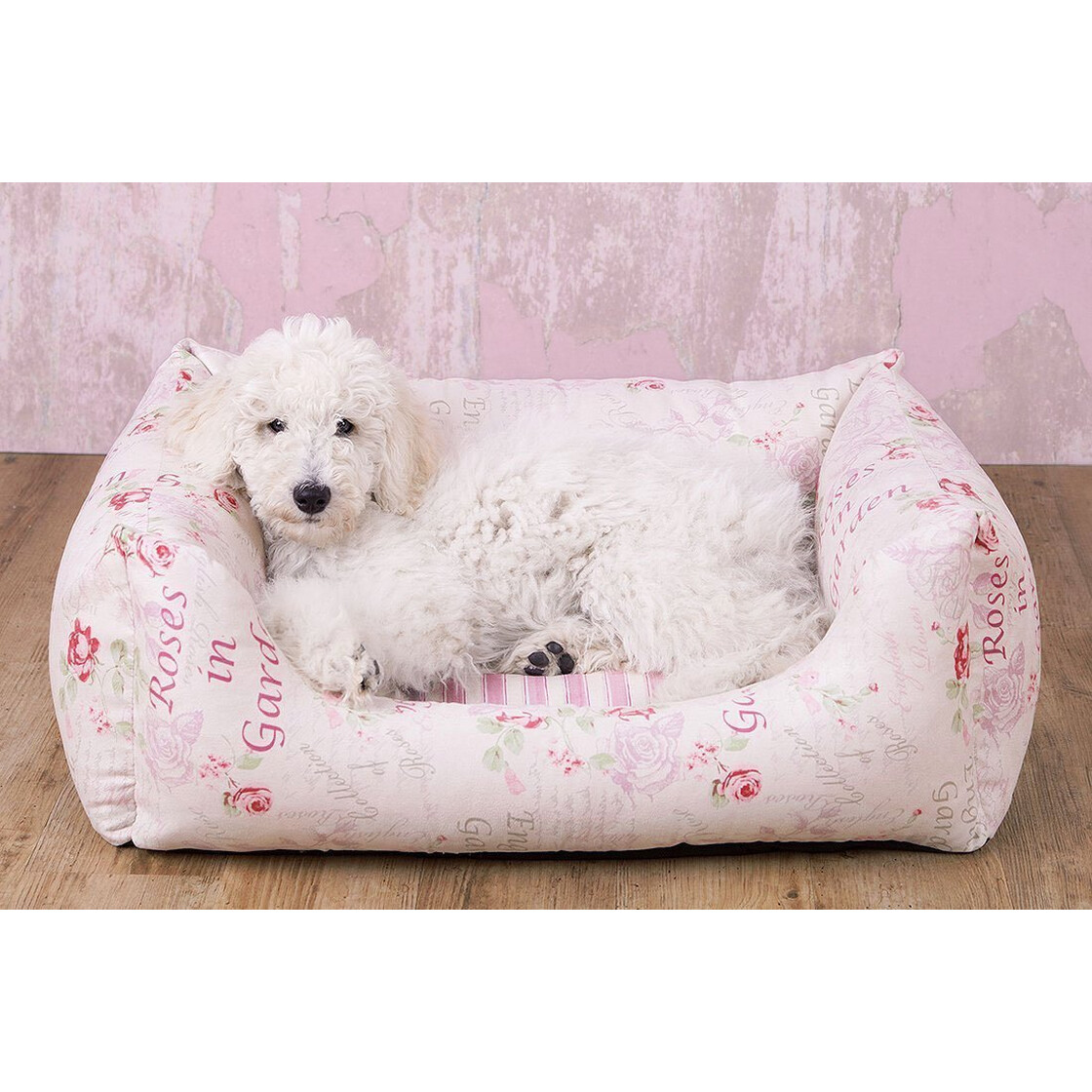 Vintage hundebett emilia shabby chic 46 95 for Shabby chic dog